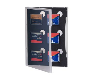 GEPE Card Safe Store CF transparent (3021)