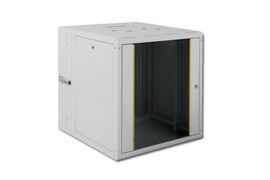 DOUBLE SECTION CABINETS WALL MOUNTING, 402X600X610MM RACK