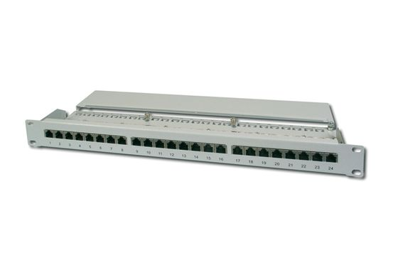 DIGITUS CAT 5E, PATCH PANEL KLASSE D, 16 PORT, GESCHIRMT     IN ACCS