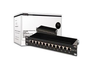 PatchPanel Cat.6 12 Port Digit
