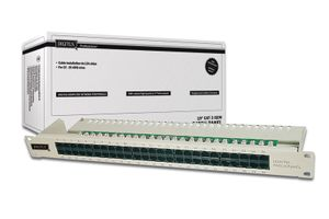 PatchPanel Cat.3 ISDN 50 Port