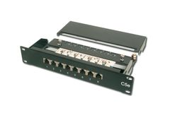 DIGITUS PatchPanel Cat.5e 08 Port Digi