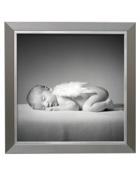 S41ND1             13x18 plastic frame  silver
