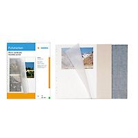 Photo Cardboard white 10 Sheets                   7571