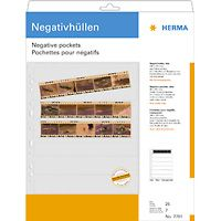 Negative pockets PP clear 25 Sheets/ 5-Strips 7761