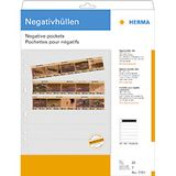 HERMA Negative pockets PP clear 25 Sheets/ 5-Strips 7761