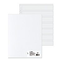 Negative pockets  PP clear 100 Sheets/ 5-Strips         7767