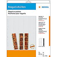 Negative pockets PP clear 25 Sheets/ 4-Strips 7760