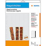 HERMA Negative pockets PP clear 25 Sheets/ 4-Strips 7760