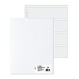 HERMA Negative Sleeves MF PP clear        100 Sheets  7769