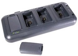 Dolphin 9000 series QuadCharger kit, Four-slot battery charging, Euro power cord/ supply