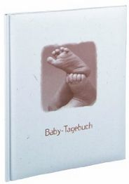 Feeling Feet     27,6x20,6 Babytagebuch 46 Pages  German