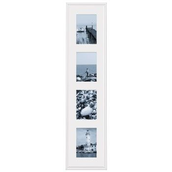 Malaga white Gallery  21x95 for 4x13x18 Plastic Frame  57374