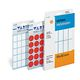 HERMA multi-purpose labels, ø 19 mm, luminous orange, (24 sheets, 960 Labels)