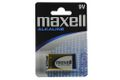 MAXELL BATTERY BLOCK 9V 6LR61 ALKALINE 1