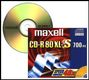MAXELL CD-R 80XL-II MUSIC SILVER JEWELCASE 10-PACK NS