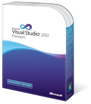 VS Prem w/MSDN Retail 2010/EN DVD Win
