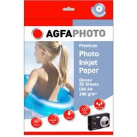 Premium Photo Glossy Paper 240 g A 4 50 Sheets