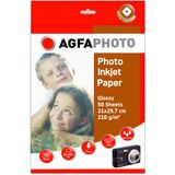 AGFAPHOTO Photo Glossy Paper 210 g A 4 50 Sheets