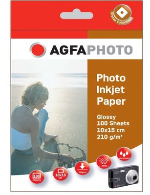 Photo Glossy Paper 210 g 10x15 cm 100 Sheets