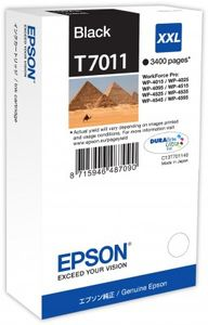 EPSON ink black xxl wp4000/