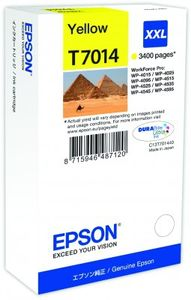 EPSON ink yellow xxl wp4000/