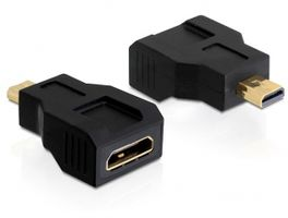 HDMI High Speed with Ethernet adt, Micro HDMI ha - Mini HDMI ho