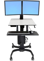 ERGOTRON WORKFIT-C DUAL HD black
