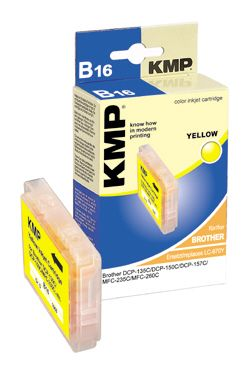 B16 ink cartridge yellow compatible with Brother LC-970 Y