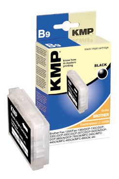 B9 ink cartridge black compatible w. Brother LC-1000Bk