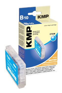 B10 ink cartridge cyan compatible w. Brother LC-1000 C