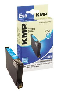 KMP E98 ink cartridge cyan compatible with Epson T 061 (1603,0003)