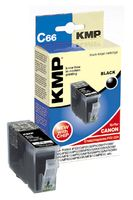 C66 ink cartridge black compatible with Canon PGI-5 BK