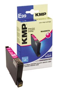 KMP E99 ink cartridge magenta compatible with Epson T 061 (1603,0006)