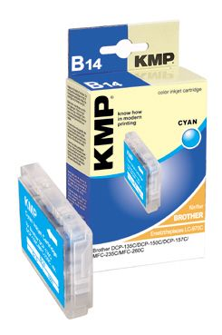 B14 ink cartridge cyan compatible with Brother LC-970 C