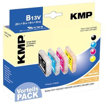 B13V Promo Pack compatible with LC-970 Bk/C/M/Y