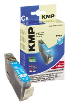 C6 ink cartridge cyan compatible with Canon BCI-3e C