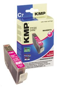 KMP C7 ink cartridge magenta compatible with Canon BCI-3e M (0957,0006)
