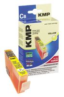KMP C8 ink cartridge yellow compatible with Canon BCI-3e Y (0957,0009)