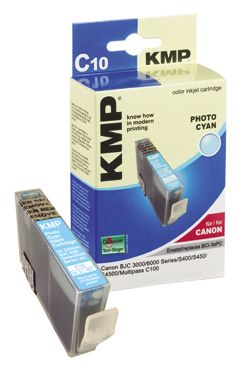 C10 ink cartridge photo cyan compatible with Canon BCI-3e PC