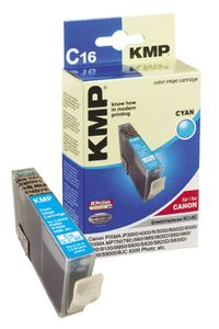 KMP C16 ink cartridge cyan compatible with Canon BCI-6 C (0958,0003)