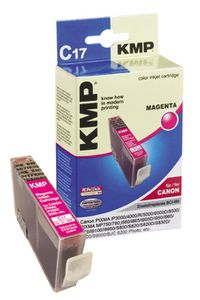 KMP C17 ink cartridge magenta compatible with Canon BCI-6 M (0958,0006)