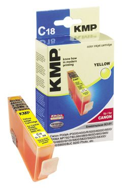 C18 ink cartridge yellow compatible with Canon BCI-6 Y