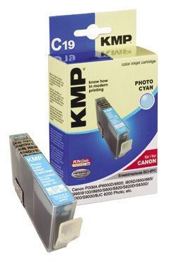 C19 ink cartridge photo cyan compatible with Canon BCI-6 PC