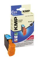 KMP C21 ink cartridge black compatiblle with Canon BCI-24 BK (0944,0001)