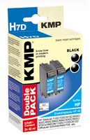 H7D ink cartridge BK 2pcs compatible with HP 51645 A