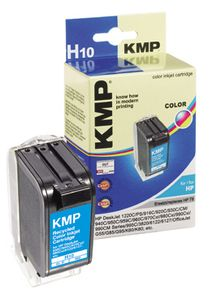 KMP H10 ink cartridge color compatible with HP C 6578 A (0992,4780)