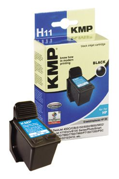 H11 ink cartridge black compatible with HP C 6656 AE