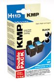 H11D ink cartridge BK 2pcs compatible with HP C 9502 AE