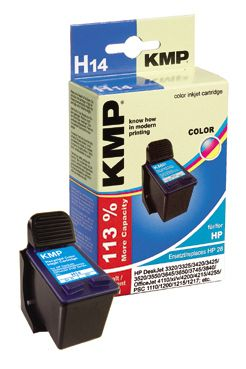H14 ink cartridge color compatible with HP C 8728 AE